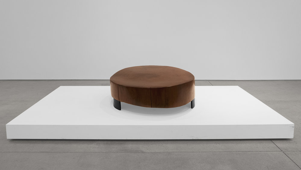Peroba Woodblock Coffee Table, Solid Peroba, 13 H x 37 W x 34 D inches_5.jpg