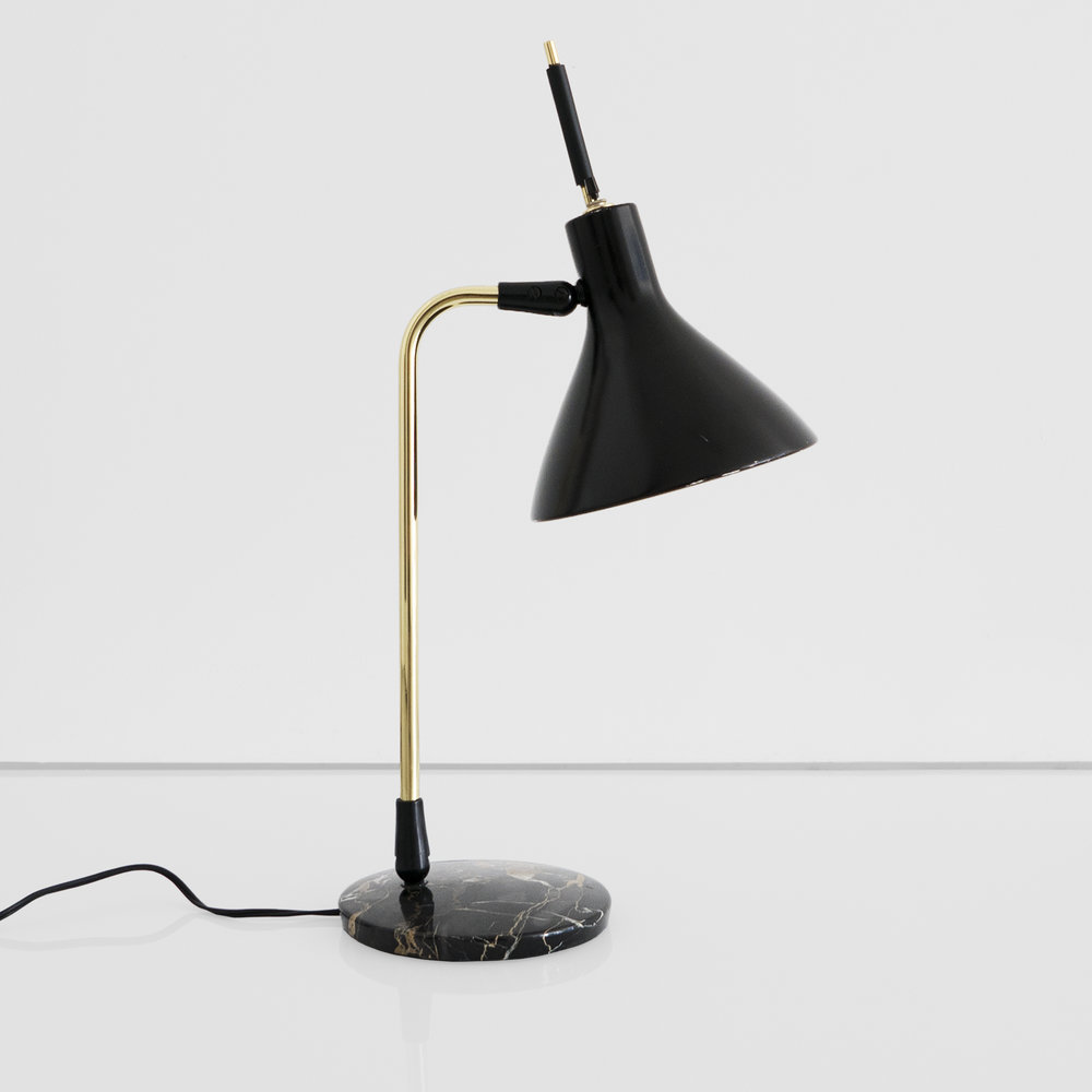 mid-century table lamp  ...