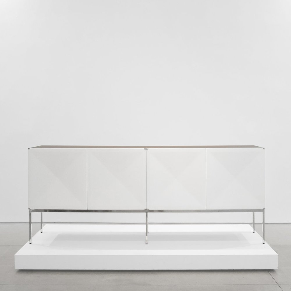 antoine phillipon & jacqueline lecoq  'pointe de diamant' sideboard  c. 1960 - 1969 ...