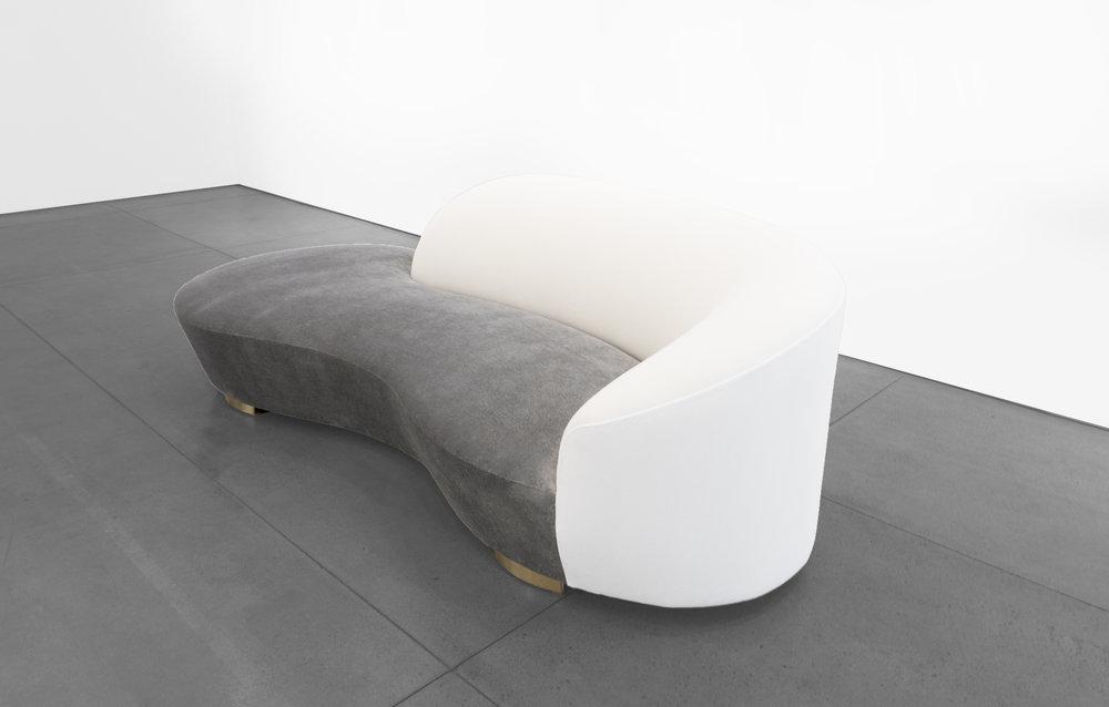 Vladimir Kagan, 'Cloud' Sofa, c. 1970 - 1979, Wood, Dedar Milano Upholstery, 32.5 H x 98 W x 16 D incehs_3.jpg