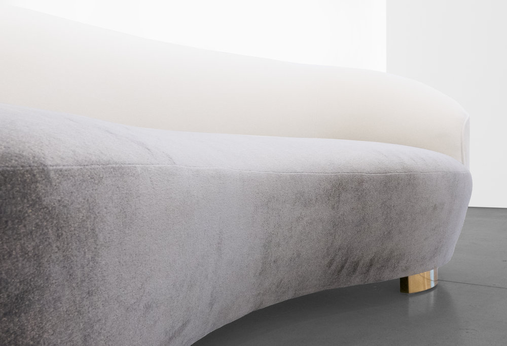 Vladimir Kagan, 'Cloud' Sofa, c. 1970 - 1979, Wood, Dedar Milano Upholstery, 32.5 H x 98 W x 16 D incehs_4.jpg