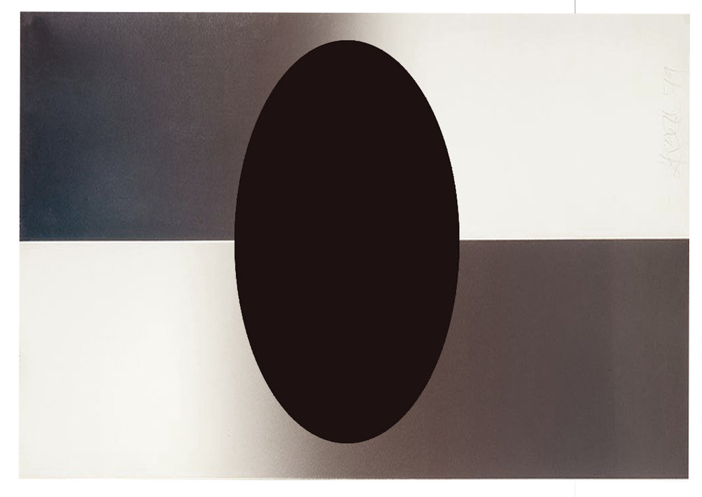 UNTITLED (HORIZONTAL FADE ELLIPSE)