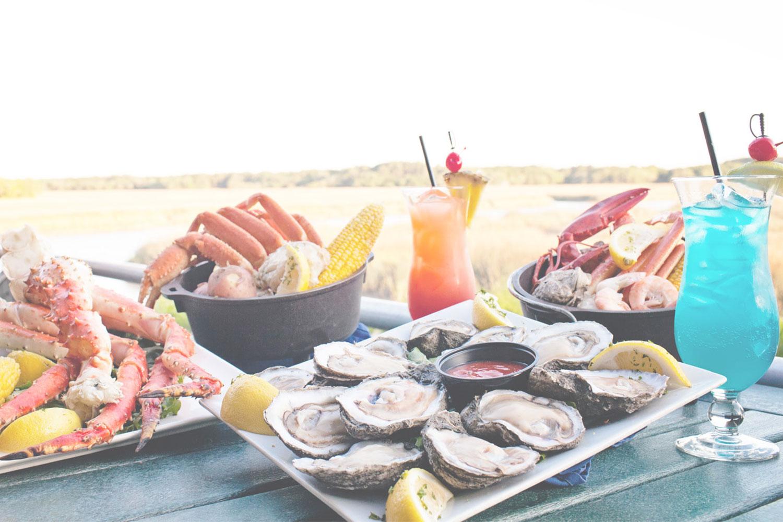 The Crazy Crab Jarvis Creek Hilton Head Seafood Restaurant Crab
