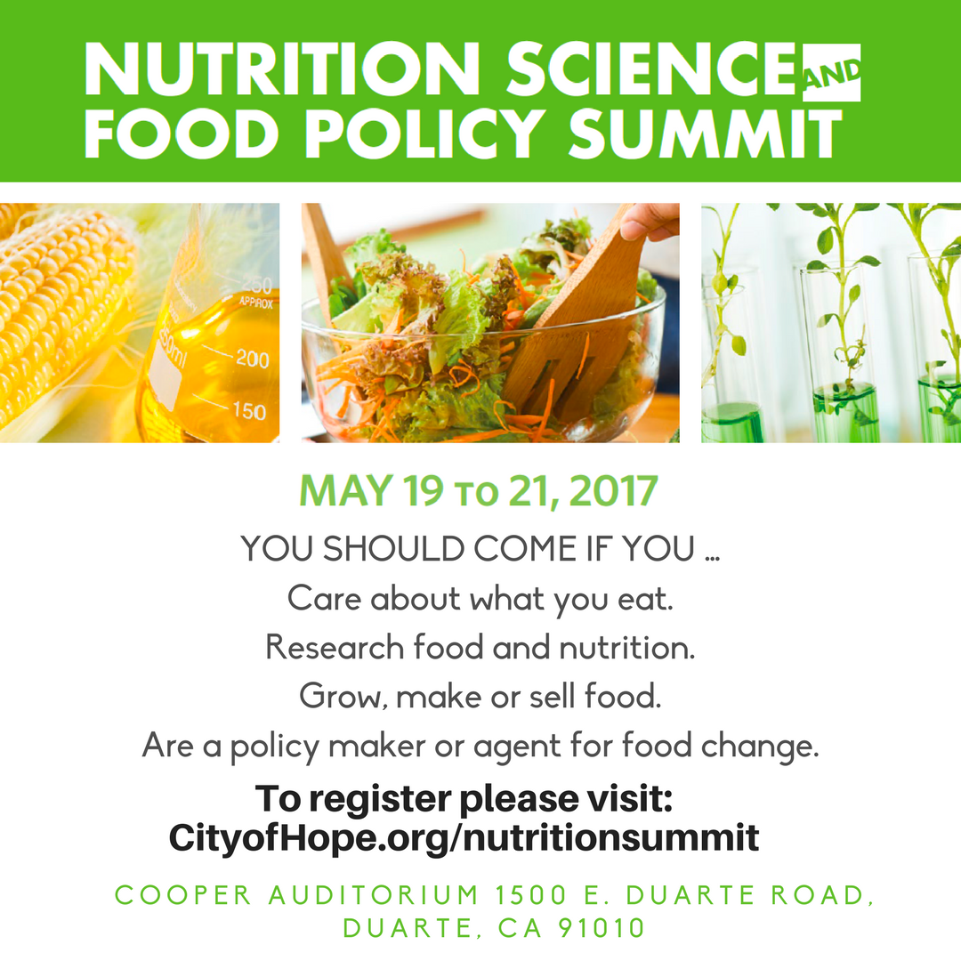 Nutrition Science and Food Policy Summit — Ourfoods