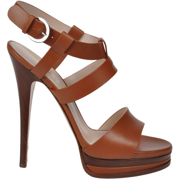 Casadei Platform Sandals    ❤ liked on Polyvore (see more  platform wedge shoes )