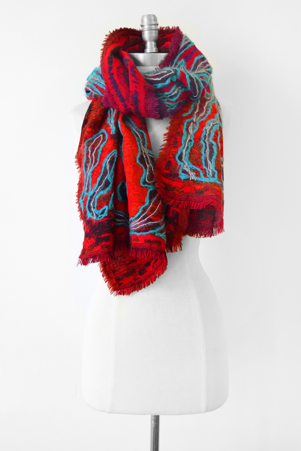 """Style No.: #8268  Color: Fiesta Multi  Quality: Wool  Size: 27"""" x 72"""""""