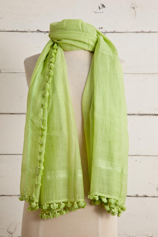 """Style No.: #8675  Color: Pistachio Nougat  Quality: Cotton Silk  Size: 38"""" x 74"""""""