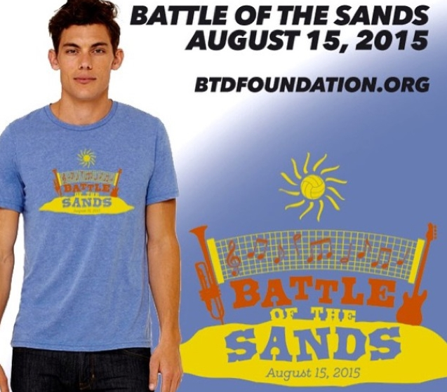 Authentic 2015 Battle of the Sands t-shirt
