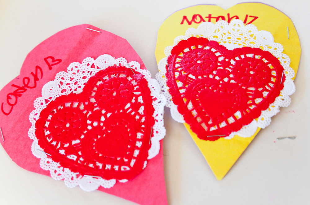 Mud Pie's cute handmade valentines!