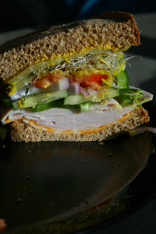 Mandy Davis's amazing sandwich