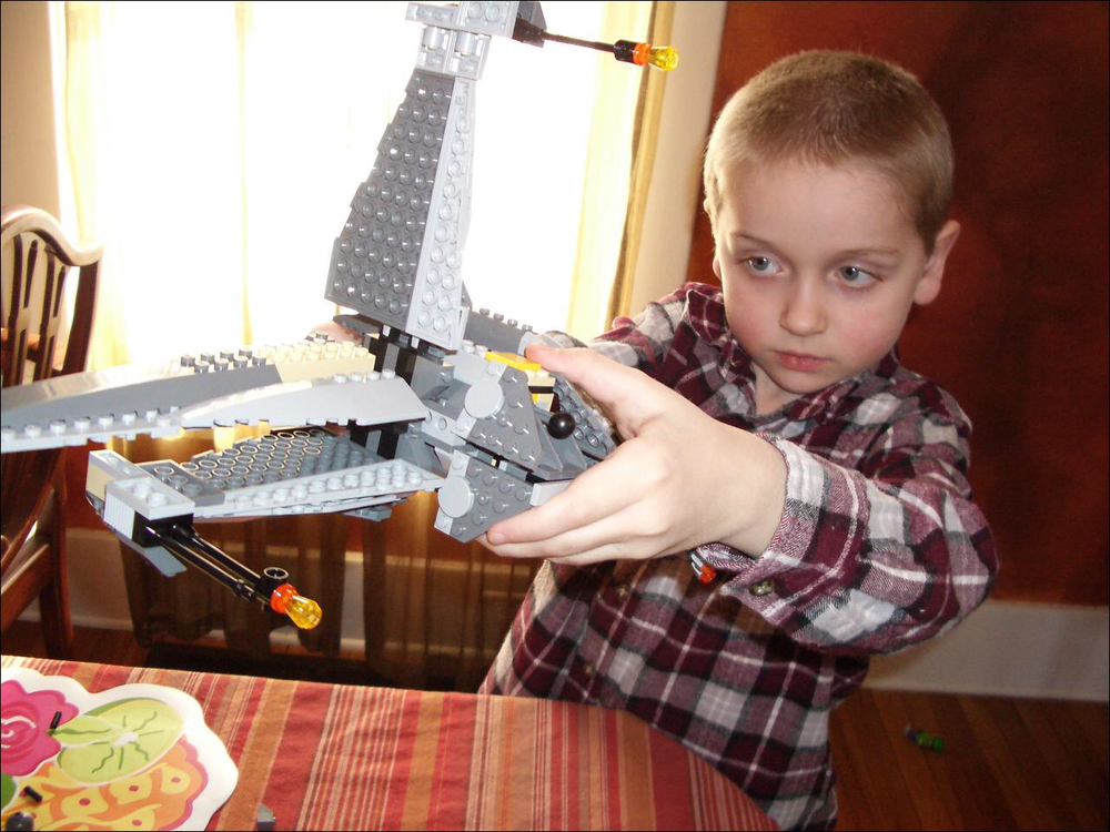 St. Nick's Lego creation