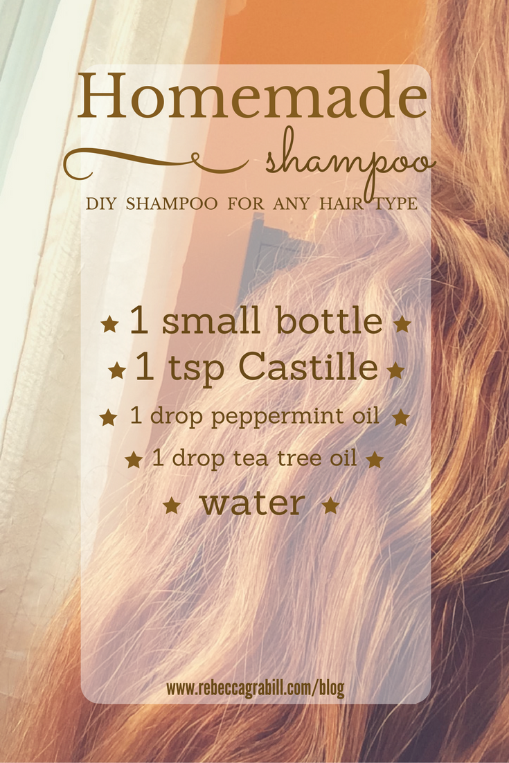 homemade diy shampoo that works