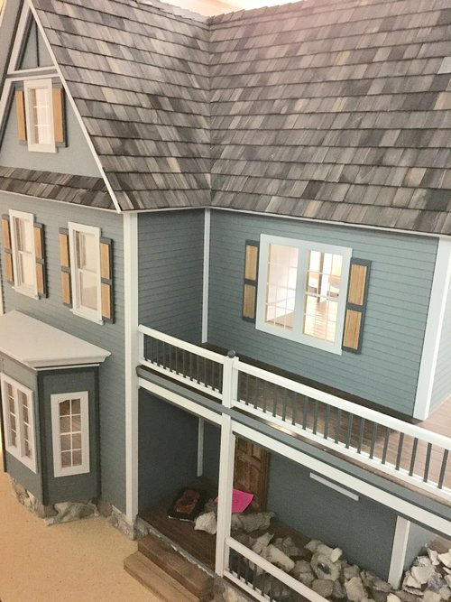 Inside The Victorias Farmhouse Dollhouse