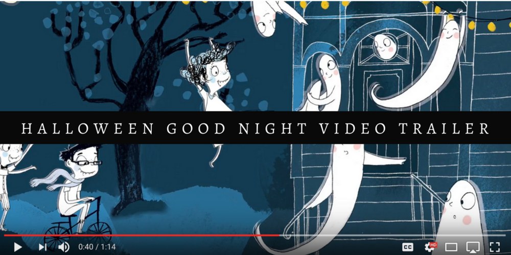 Halloween Good Night by Rebecca Grabill has one of the best book trailers!