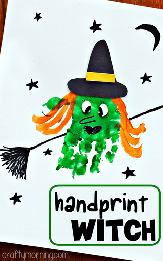 Witchy - Handprint Art!