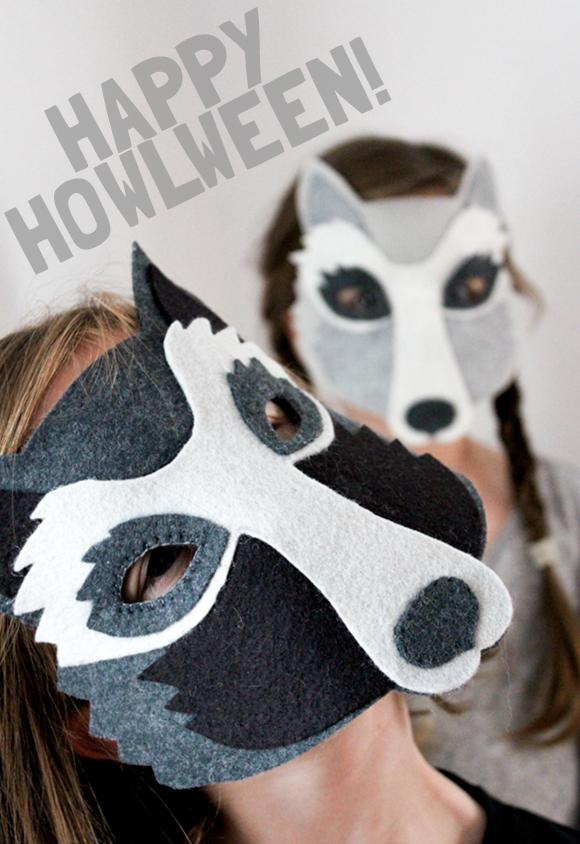 Aroooooooo! - Wolf masks for everyone!
