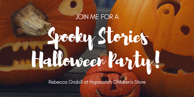 Spooky Stories Halloween Party at Hopscotch Children's Store ...