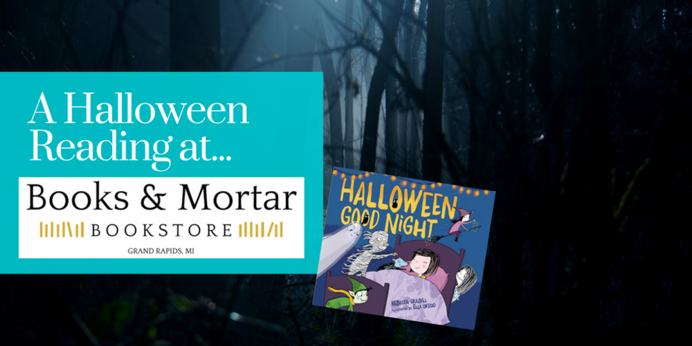 Books & Mortar reading of Halloween Good Night by Rebecca Grabill