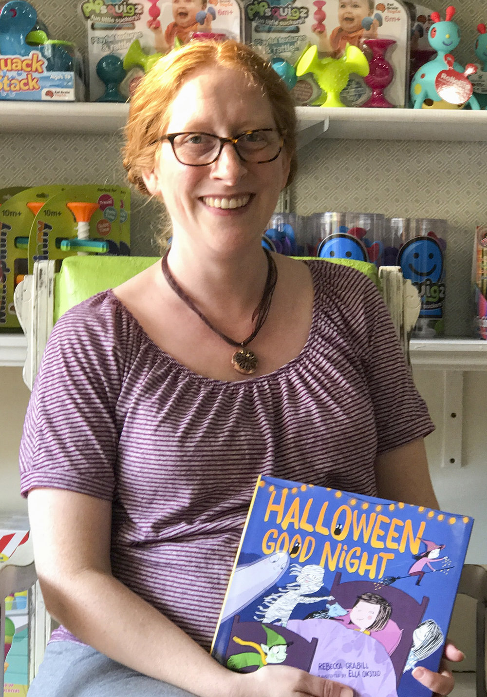 Rebecca Grabill with Halloween Good Night