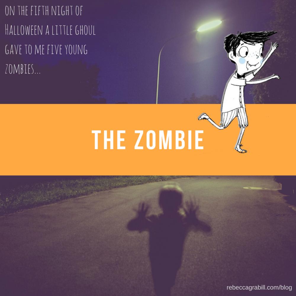 Halloween Good Night Fifth Night of Halloween: Zombies