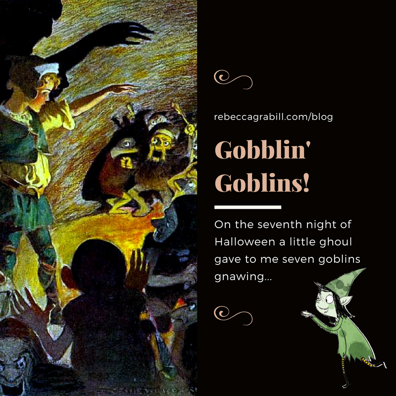 Halloween Good Night Seventh Night of Halloween: Goblins