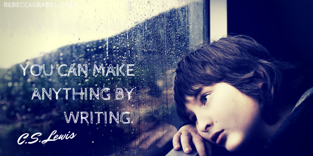 "My goal is to Inspire and Delight. As CS Lewis said, ""You can Make anything by writing."""