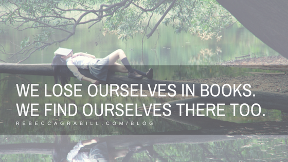 We lose ourselves in books. We find ourselves there too. Apply the Grabill Scale of Tension to better learn how to help readers get lost in your books.