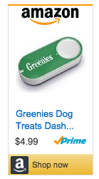 Greenies Dog Treats Dash Button