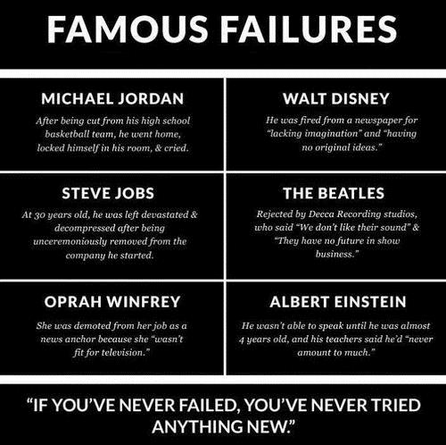 Failure is not an option essay