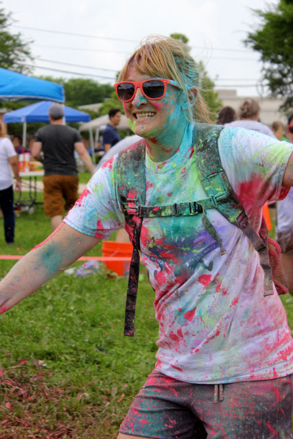 Color dash! (Photo by Dawn Johnson.)