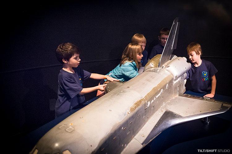 LTSA students on a NASA field trip.