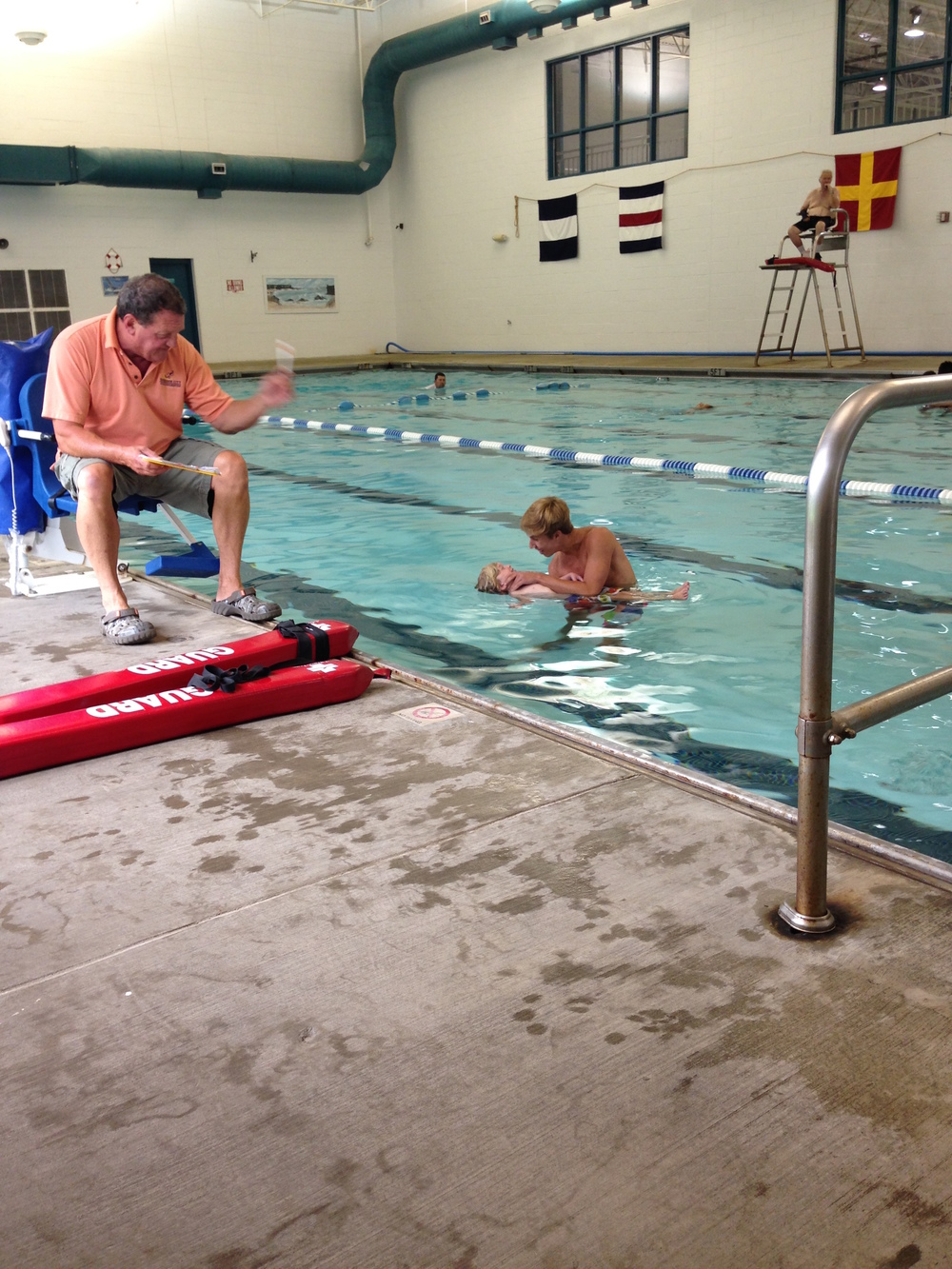 becoming a lifeguard with a little help from jett