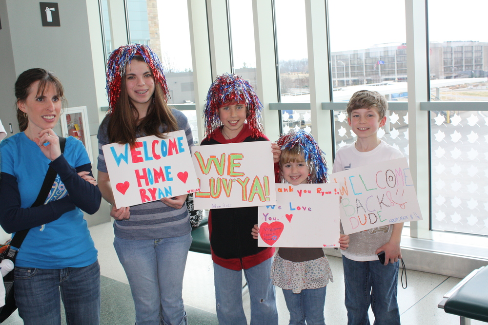 FLASHBACK:  WELCOME HOME SOLDIER