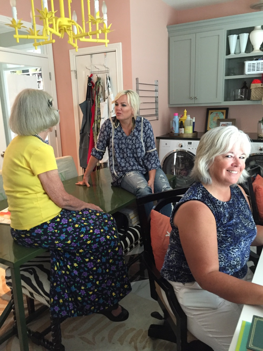 TALKING OILS WITH EDIE, MISS FAYE, AND RENEE