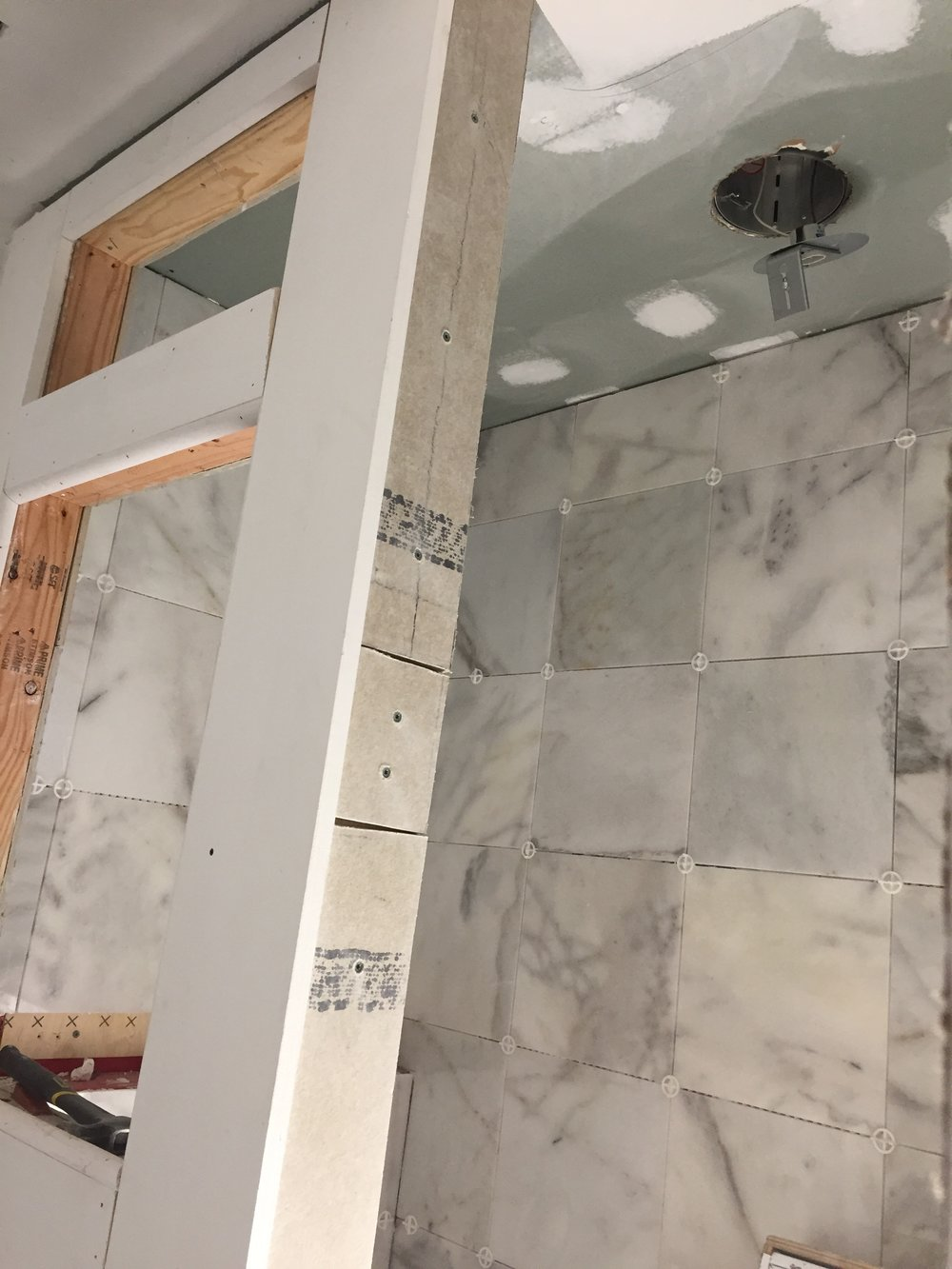 THE MASTER BATH SHOWER