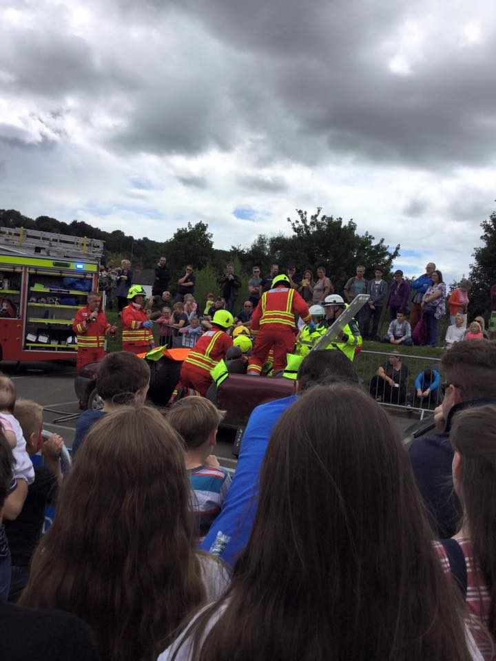 Monmouth Carnival became a stand alone event and the Family Fun Day was resurrected with entertainment, stalls, rides and firemen!  Luckily it remained dry during the day for the Busking Festival on the opening Saturday and the Family Fun Day on the Sunday.