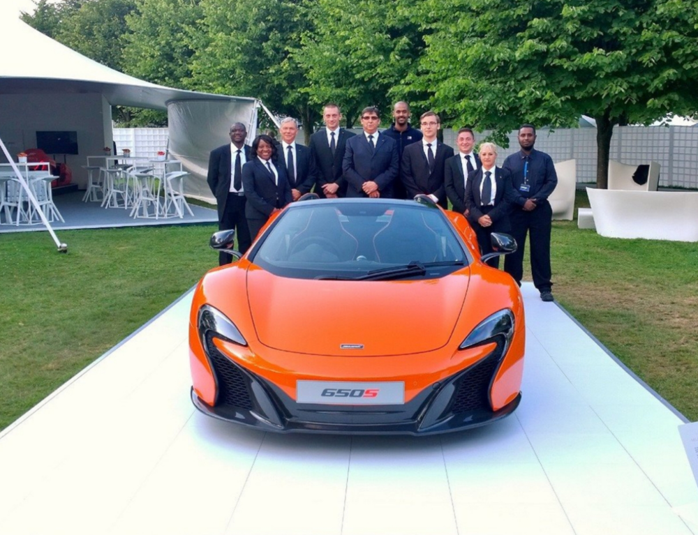 Salima Security Staff at Goodwood Festival of Speed