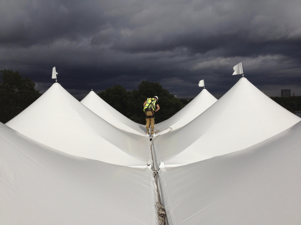 Skilled Marquee Erectors