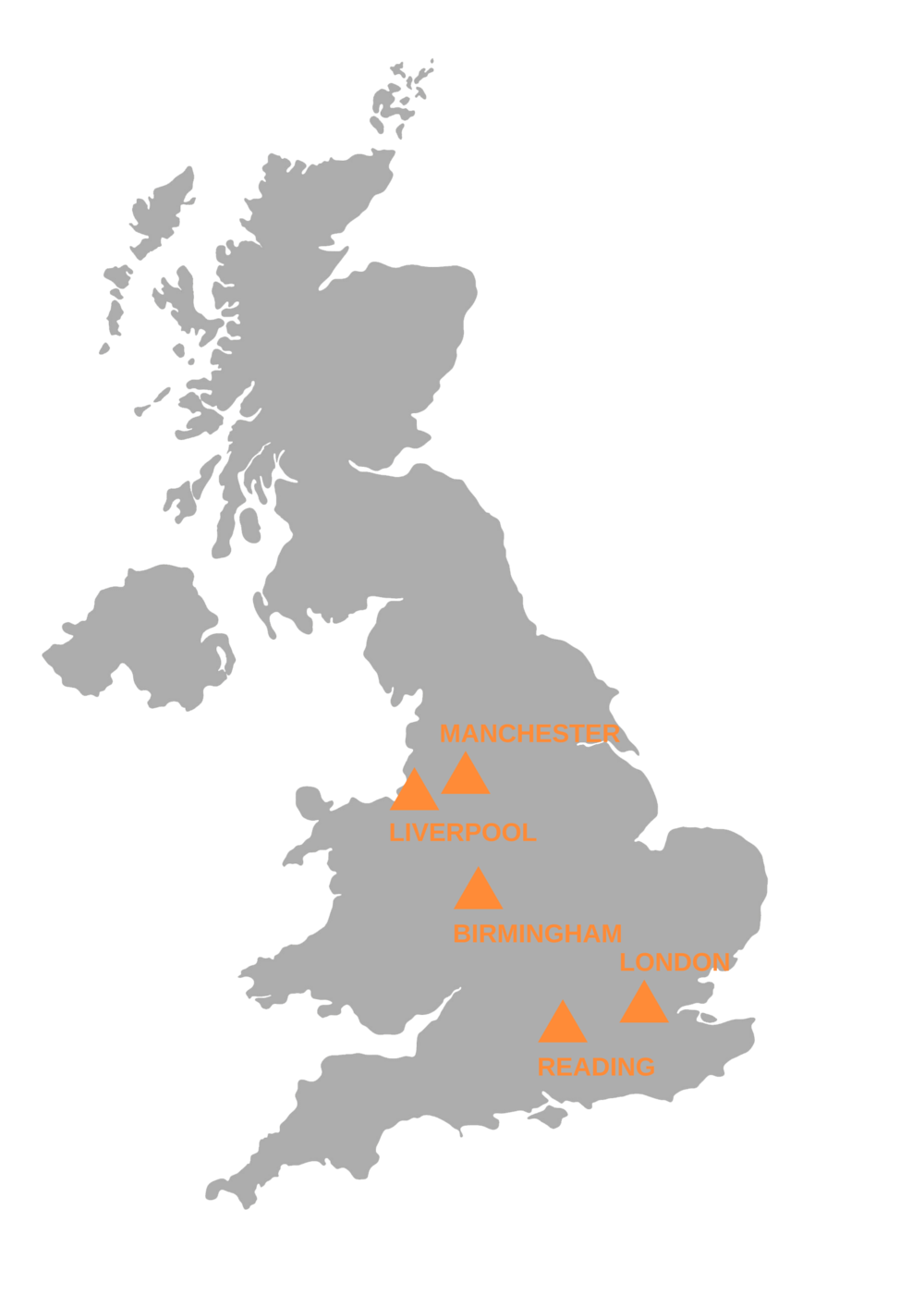 Click to see our UK nationwide hubs