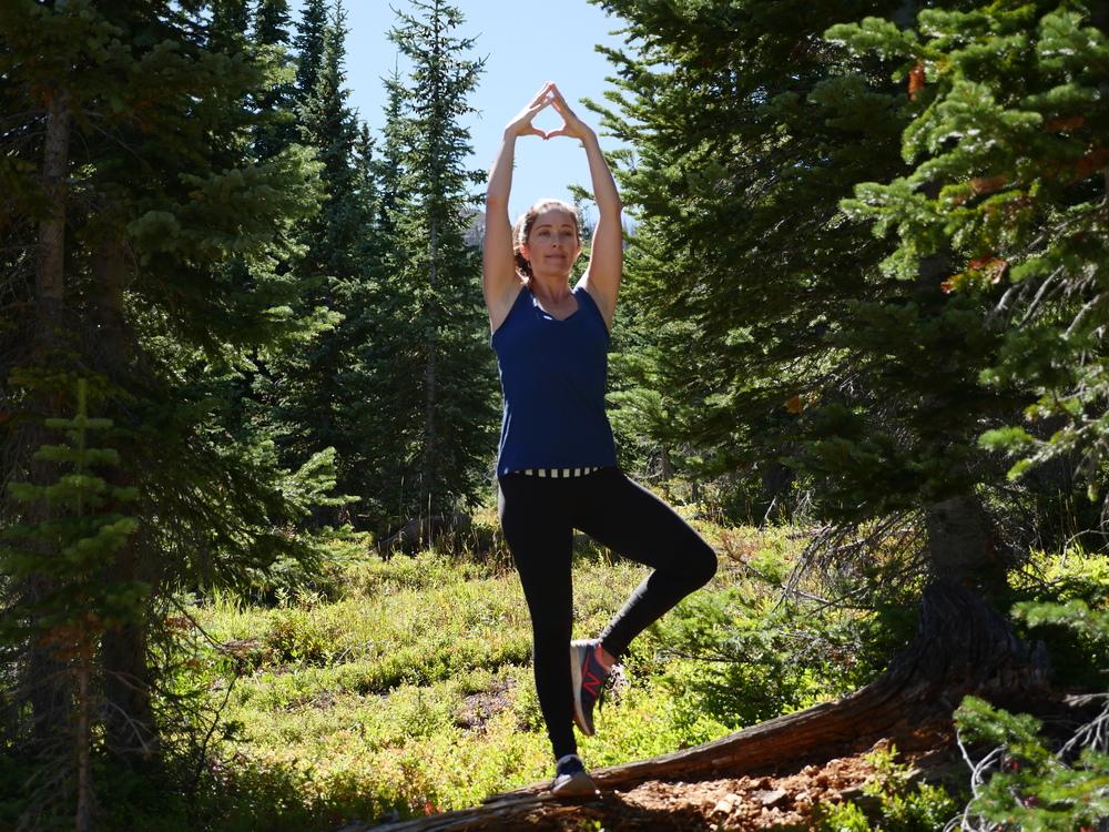 Tree Pose in Colorado