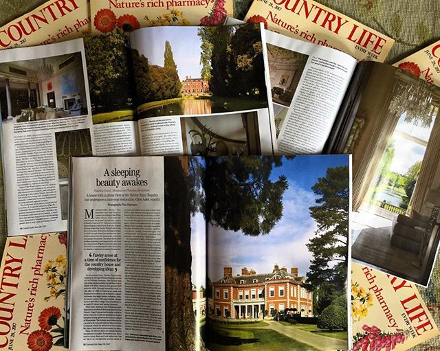 Fabulous spread in this weeks #countrylife magazine!