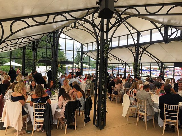 Friday lunch @henleyroyalregatta in full swing!