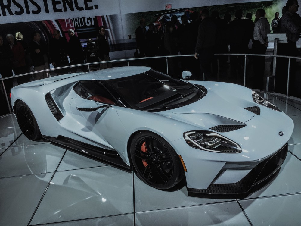 2017 Ford GT  Engine:  3.5L V6 Twin Turbo Producing 720 HP & 539 lb-ft  Price: $ 600K