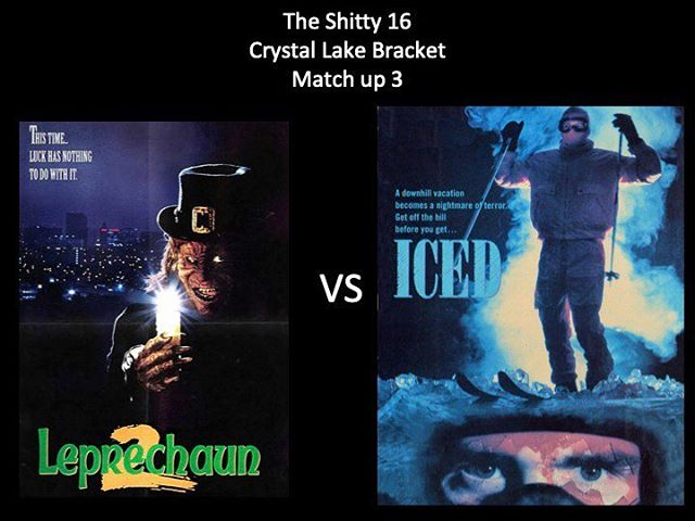 WHICH IS WORSE?! Vote in the comments below. We have Leprechaun 2 vs Iced! Keep it up Moongoons! #leperchaun2 #iced #leperchaun #wednesdayadamsboobs #marchmoviemadness #horrorpodcast #horriblehorrorpodcast #moongoons