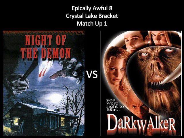 WHICH IS WORSE?! Vote in the comments below! We have Night of the Demon vs Dark Walker. Keep voting Moongoons! #nightofthedemon #darkwalker #isdarkwalker1wordor2 #bigfoot #bigfoothorrormovie #marchmoviemadness #horriblehorrorpodcast #horrorpodcast #moongoons