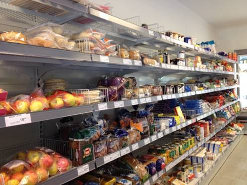 Grocery Store,  Danish Prison