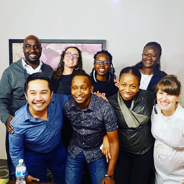Smart and thoughtful group of amazing @aspeninstitute NV Fellows & our faculty! @courtwrites.Honored to have been a part of you rockstars. Hoping to see you put your amazing ideas, innovations & stories into a TED talk one day and or write your books that become best sellers! Thanks for being an awesome 👏🏾 team and for the constructive feedback. Let's keep each other accountable! #TheFutureisBright! @aspeninstitute @hollykearl @sitawawafula @ngozierondu @drass