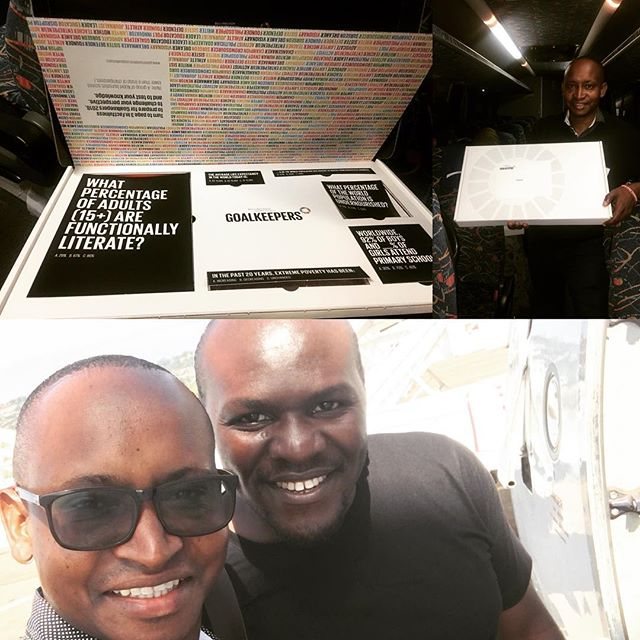 Honored to join other young and impactful #African leaders at the #GoalKeepers Forum in #Johannesburg #SouthAfrica this weekend! #SustainableDebelopment #Goals #SDG4 @teachforuganda @teachforall @teachforghana @teachfornigeria @bill.melindagatesfoundation @aspeninstitute