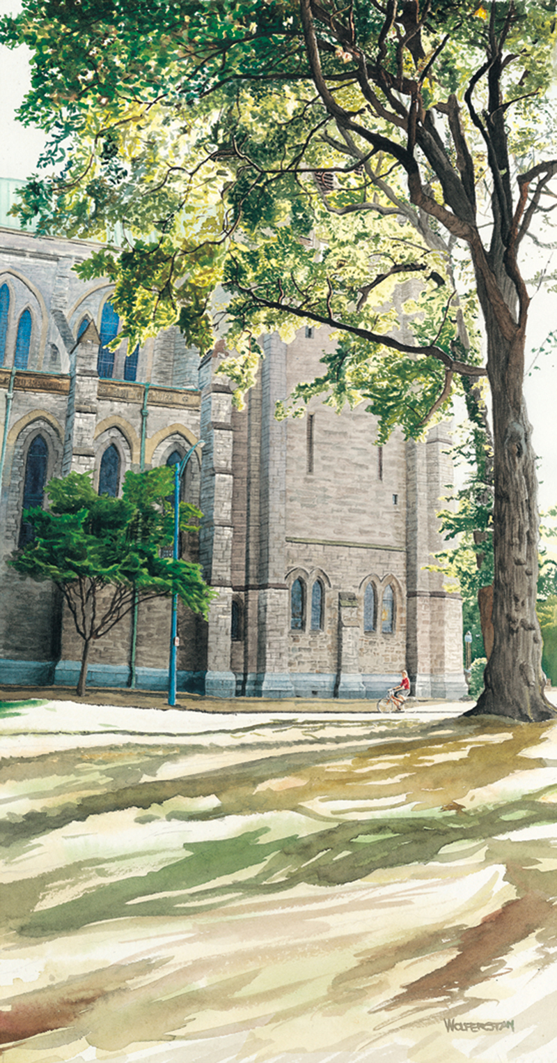"""Christ Church Cathedral  15 x 281/2"""""""