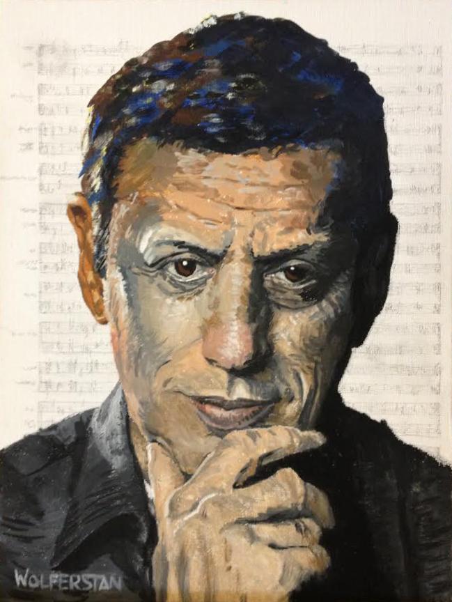 "Philip Glass  9 x 12"""